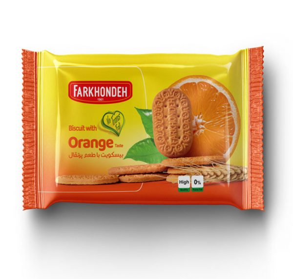 Biscuit with Orange Taste